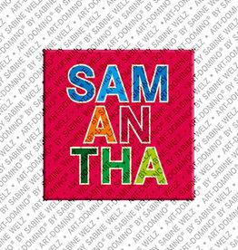 ART-DOMINO® by SABINE WELZ Magnet SAMANTHA