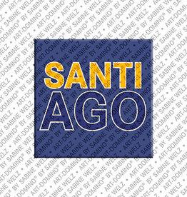 ART-DOMINO® by SABINE WELZ Magnet SANTIAGO