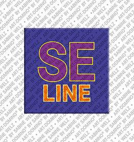 ART-DOMINO® by SABINE WELZ Magnet SELINE