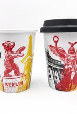 ART-DOMINO® BY SABINE WELZ MUG-2-GO - BERLIN - 01