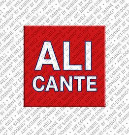 ART-DOMINO® BY SABINE WELZ Magnet - ALICANTE - 00