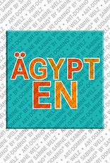 ART-DOMINO® BY SABINE WELZ Ägypten - Schriftzug