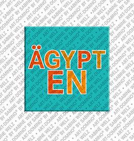 ART-DOMINO® BY SABINE WELZ Magnet - ÄGYPTEN - 00