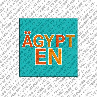 ART-DOMINO® by SABINE WELZ Ägypten - Lettrage