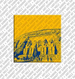 ART-DOMINO® BY SABINE WELZ Magnet - ÄGYPTEN - 01