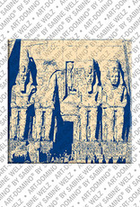 ART-DOMINO® BY SABINE WELZ L'Egypte - Abu Simbel - Complexe de temples pour Ramsès II - 2