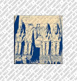 ART-DOMINO® BY SABINE WELZ Magnet - ÄGYPTEN - 02