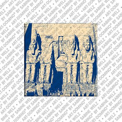 ART-DOMINO® BY SABINE WELZ Ägypten - Abu Simbel - Tempelanlage für Ramses II - 2