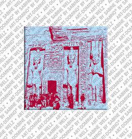 ART-DOMINO® BY SABINE WELZ Magnet - ÄGYPTEN - 03