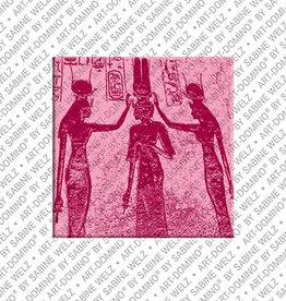 ART-DOMINO® BY SABINE WELZ Magnet - ÄGYPTEN - 04