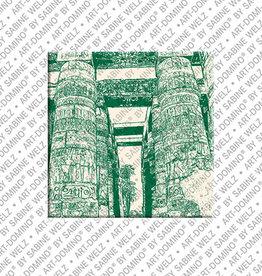 ART-DOMINO® BY SABINE WELZ Magnet - ÄGYPTEN - 06