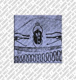 ART-DOMINO® BY SABINE WELZ Magnet - ÄGYPTEN - 13