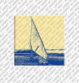 ART-DOMINO® BY SABINE WELZ Magnet - ÄGYPTEN - 14