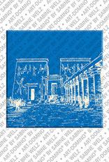 ART-DOMINO® BY SABINE WELZ Ägypten - Isis-Tempel von Philae
