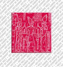 ART-DOMINO® BY SABINE WELZ Magnet - ÄGYPTEN - 18