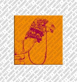 ART-DOMINO® BY SABINE WELZ Magnet - ÄGYPTEN - 19
