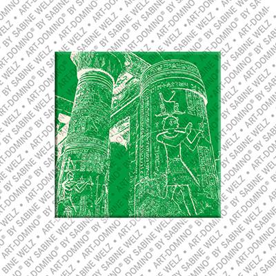 ART-DOMINO® BY SABINE WELZ Ägypten - Kom Ombo - Säulenhalle