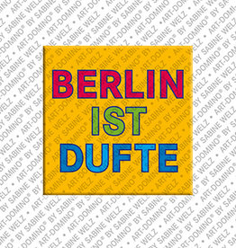 ART-DOMINO® by SABINE WELZ Aimant - BERLIN IST DUFTE