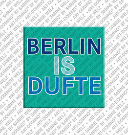 ART-DOMINO® BY SABINE WELZ Aimant - BERLIN IS DUFTE - 2