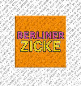 ART-DOMINO® BY SABINE WELZ Aimant - BERLINER ZICKE
