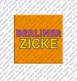 ART-DOMINO® BY SABINE WELZ Magnet - BERLINER ZICKE