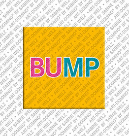 ART-DOMINO® BY SABINE WELZ Aimant - BUMP