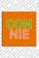 ART-DOMINO® by SABINE WELZ Connie - Magnet with the name Connie