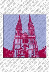 ART-DOMINO® by SABINE WELZ Zagreb - Cathedral of Santa Maria Aunta