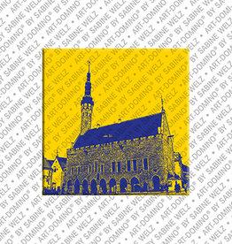 ART-DOMINO® by SABINE WELZ Magnet - TALLINN - 01
