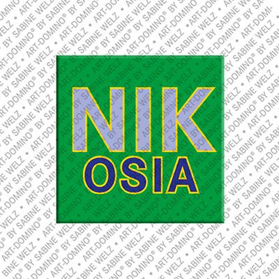 ART-DOMINO® by SABINE WELZ Nikosia - Schriftzug