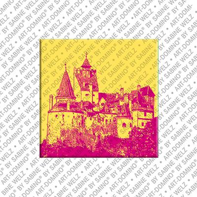 ART-DOMINO® by SABINE WELZ Bran - Bran Castle