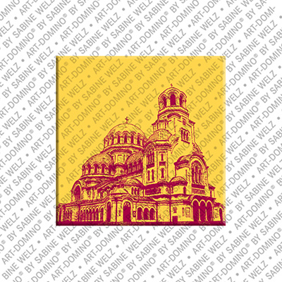 ART-DOMINO® by SABINE WELZ Sofia - Alexander's Cathedral