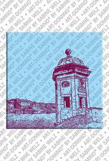 ART-DOMINO® by SABINE WELZ Valetta - Harbour View