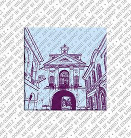 ART-DOMINO® by SABINE WELZ Magnet - VILNIUS - 02