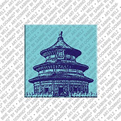 ART-DOMINO® by SABINE WELZ Peking - Himmelspalast