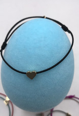 LUA ACCESSORIES  ARMBAND MINI HEART GOLD - 01