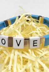 LUA ACCESSORIES  ARMBAND FOREVER LOVE - BLAU
