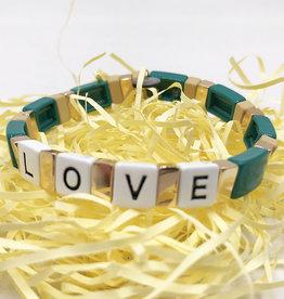 LUA ACCESSORIES  BRACELET FOREVER LOVE - VERT