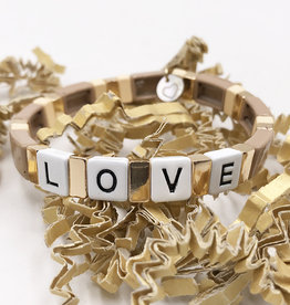 LUA ACCESSORIES  FOREVER LOVE BRACELET - NATURE