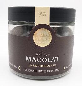 MAISON MACOLAT CHOCOLATE COATED MACADAMIA - DARK CHOCOLATE