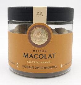 MAISON MACOLAT CHOCOLATE COATED MACADAMIA - SALTED CARAMEL