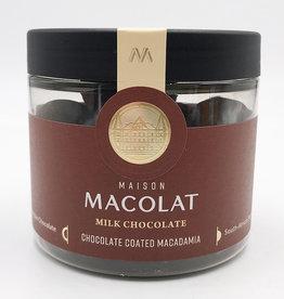 MAISON MACOLAT CHOCOLATE COATED MACADAMIA - MILK CHOCOLATE