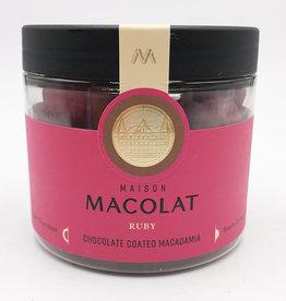 MAISON MACOLAT CHOCOLATE COATED MACADAMIA - RUBY