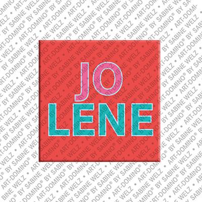 ART-DOMINO® BY SABINE WELZ Jolene - Aimant avec le nom Jolene