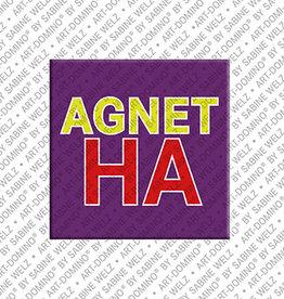 ART-DOMINO® BY SABINE WELZ Magnet AGNETHA