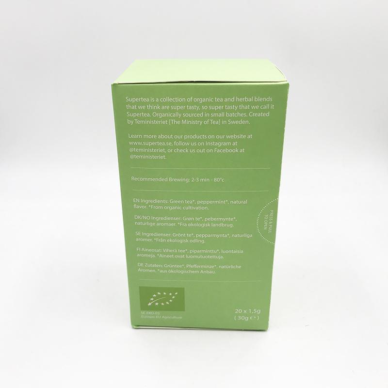 TEMINISTERIET TEMINISTERIET - Supertea Thé vert menthe bio