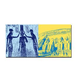ART-DOMINO® BY SABINE WELZ Leinwandbild - Ägypten - 092-01