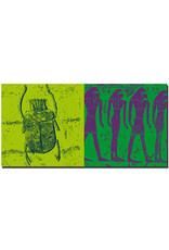 ART-DOMINO® BY SABINE WELZ Ägypten - Tal der Könige-Skarabäus-Grab Merenptah + Tal der Könige-im Grab Ramses IX
