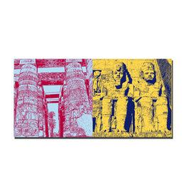 ART-DOMINO® BY SABINE WELZ Leinwandbild - Ägypten - 092-04