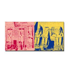 ART-DOMINO® BY SABINE WELZ Leinwandbild - Ägypten - 092-05